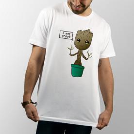 Camiseta unisex del bebé Groot del cómic guardianes de la Galaxia