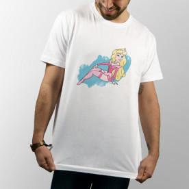 """Camiseta unisex de manga corta con dibujo de la princesa Disney """"Aurora"""""""