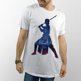 Camiseta de manga corta con dibujo de Rey de Star Wars Los últimos Jedi