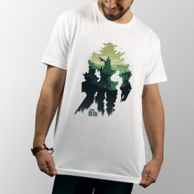 "Camiseta del videojuego ""Shadow of the Colossus"" de manga corta unisex"