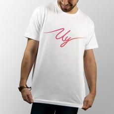 Camiseta de manga corta con logo del youtuber Uy Albert! de colores