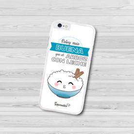 Carcasa flexible blanca o negra personalizada para Iphone