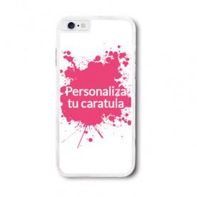 Carcasa flexible blanca o negra para Iphone para personalizar como tú quieras