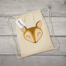 Saco de tela con diseño de animales, perfecto para los amantes de la naturaleza y los animales.