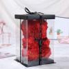 Oso de rosas foam de 25cm con caja de regalo incluida.