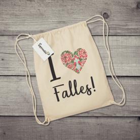 Saco de tela con mensaje divertido para los amantes de las Fallas valencianas