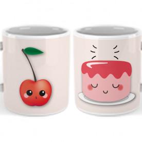 Set de 2 Tazas con frase romántica para hacer un regalo original a esa persona tan especial.