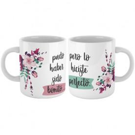 Set de 2 Tazas con frase para hacer un regalo de boda original a los novios