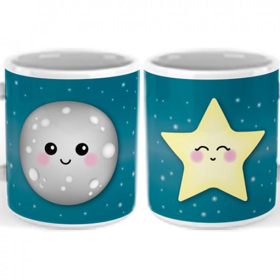 Set de 2 Tazas con frase divertida para hacer un regalo original a tu pareja.