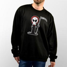 Sudadera con capucha o sin capucha unisex, diseño especial para halloween.