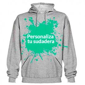 Sudadera personalizable con capucha unisex. ¡Hazla a tu gusto!