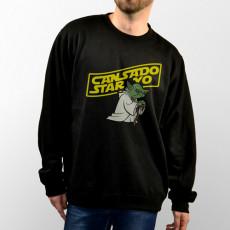Sudadera para chico y chica unisex con imagen de Yoda Star Wars