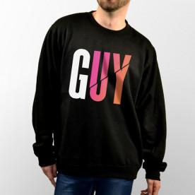 Sudadera con capucha o sin capucha unisex con G.U.Y. del youtuber Uy Albert! de colores