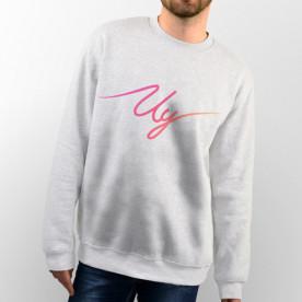Sudadera con capucha o sin capucha unisex con logo del youtuber Uy Albert! de colores
