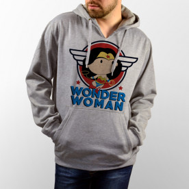 Sudadera Unisex Mini Wonder Woman