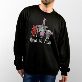 Sudadera con capucha o sin capucha unisex, diseño especial de Pesadilla antes de Navidad.
