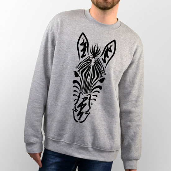 Sudadera para chico y chica unisex  Zebra