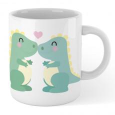 Taza cerámica con ilustración graciosa para hacer un regalo original a esa persona tan especial.