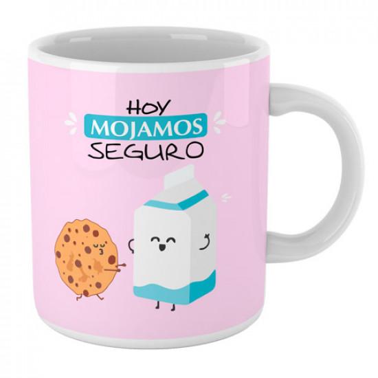 Taza cerámica con frase divertida para hacer un regalo original a tu pareja o amig@