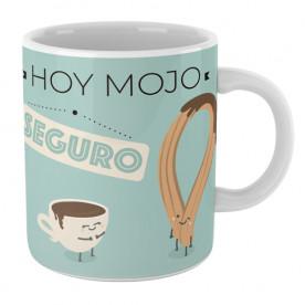 Taza cerámica con frase graciosa para hacer un regalo original a esa persona tan especial.