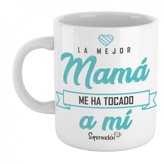 Dile a mamá quién es la mejor de todas con esta taza para mamis