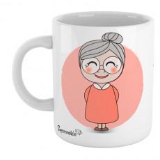 """Taza personalizada """"La mejor abuela en el mundo entero!"""" - Supermolon - Regalo original"""