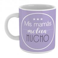Taza  personalizada con mensaje divertido para hacer un regalo original a las mamás
