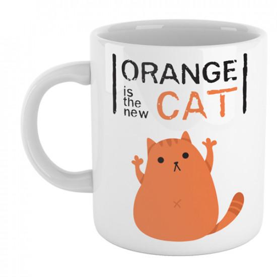 "Divertida taza de cerámica basada en la serie ""Orange is the new black"""