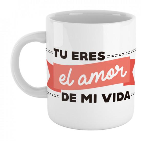 Taza Personalizada Tu Eres El Amor De Mi Vida Supermolon
