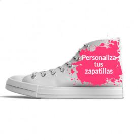 Zapatillas de caña alta para personalizar